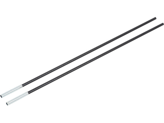 CAMPZ Varilla Fibra de Vidrio con Manguito 8mm x 0,55m, black
